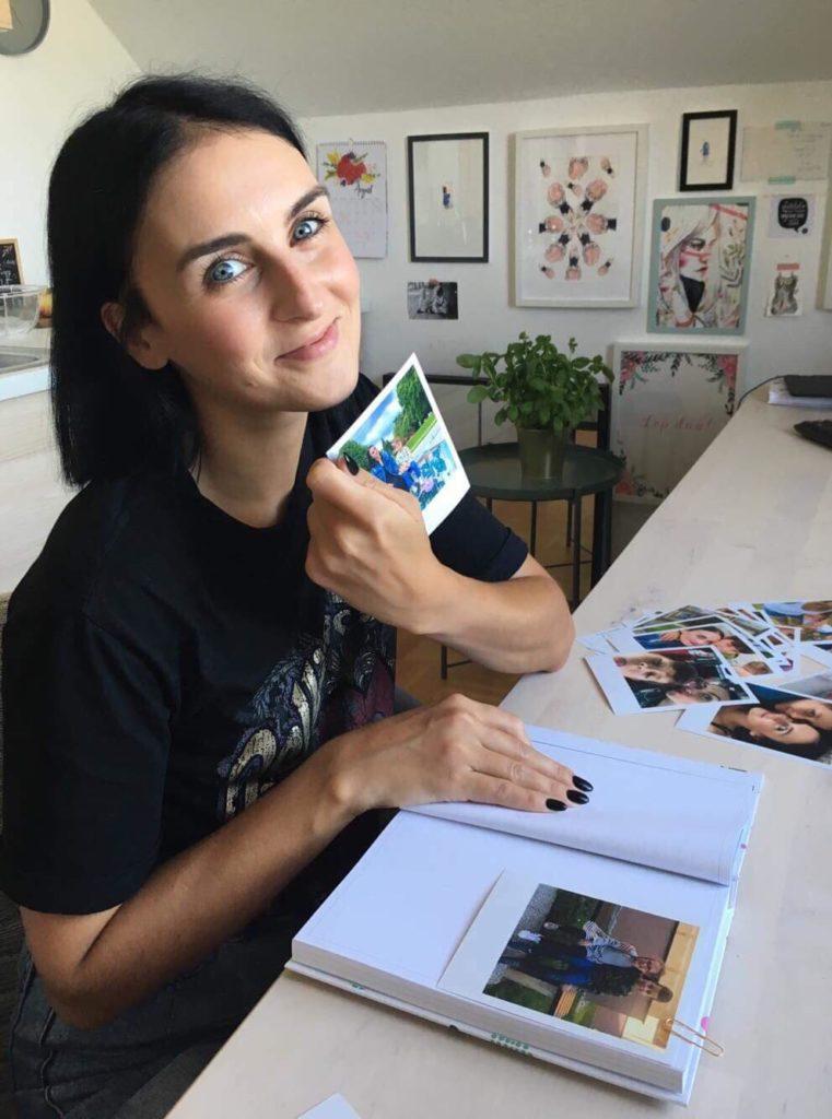 Nina Držaj, fotografije, album