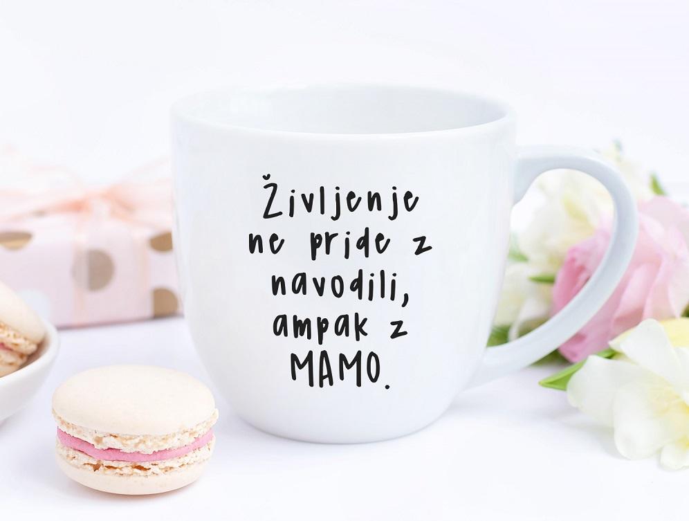 Čas za kavo, mama, materinski dan, skodelica