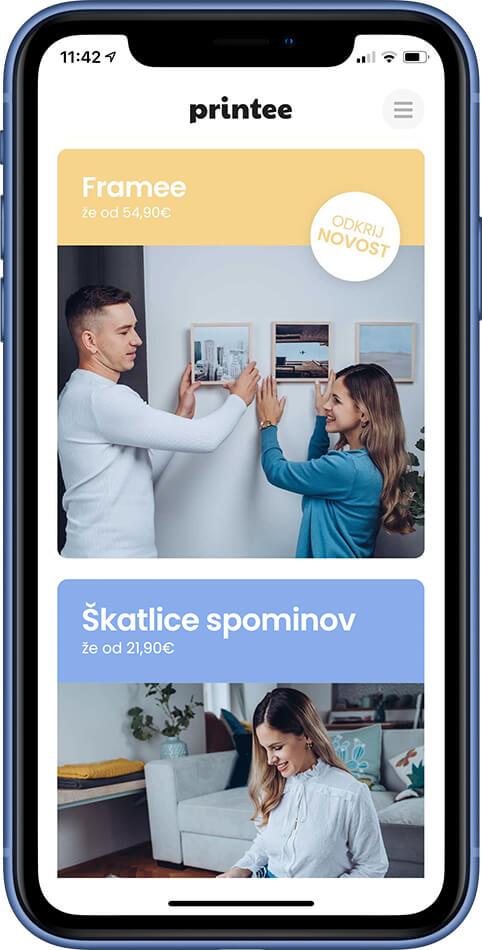 Printee app - Framee
